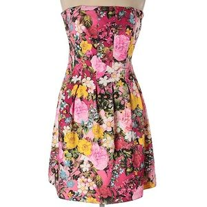 NY&CO Strapless Floral Dress